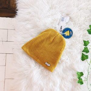 17a99e61599 Neff Accessories - Mustard Neff Beanie Slouchy NWT Yellow